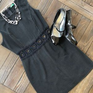 Made in Italy of Benetton super cute black dress